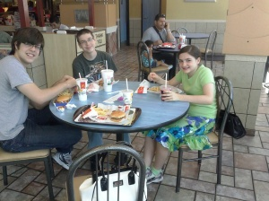 Lunch Break at McDonalds